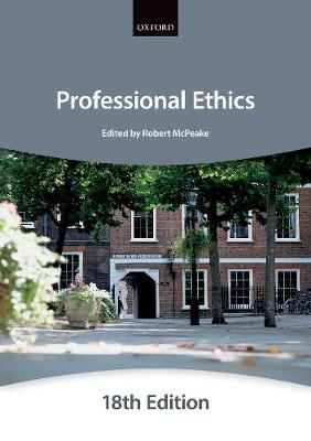 Professional Ethics - Bar Manuals (Paperback)
