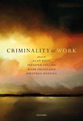 Criminality at Work (Hardback)