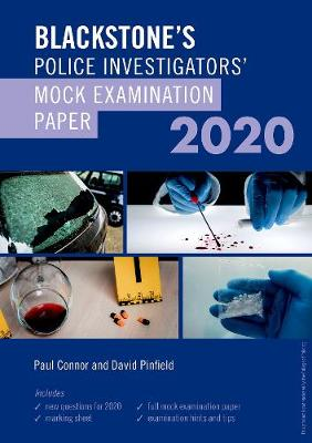 Blackstone's Investigators' Mock Exam 2020 (Paperback)