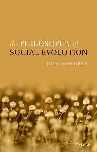 The Philosophy of Social Evolution (Paperback)