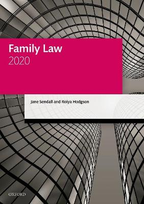 Family Law 2020 - Legal Practice Course Manuals (Paperback)
