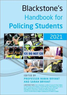Blackstone's Handbook for Policing Students 2021 (Paperback)
