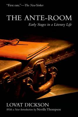 The Ante-Room: Early Stages in a Literary Life (Paperback)
