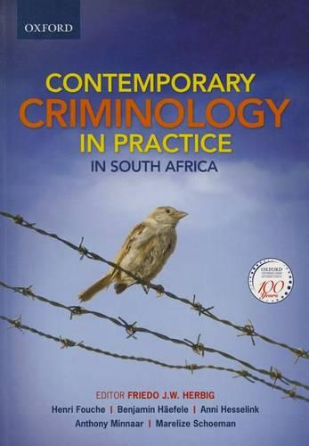 Contemporary Criminology in South Africa (Paperback)