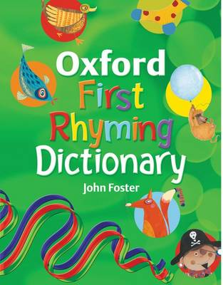 Oxford First Rhyming Dictionary (Paperback)
