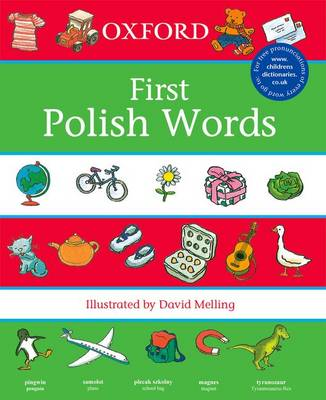 First Polish Words (Paperback)