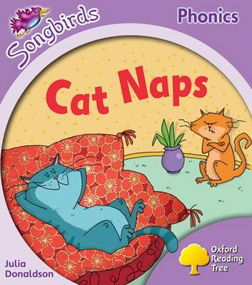 Oxford Reading Tree: Level 1+: More Songbirds Phonics: Cat Naps (Paperback)