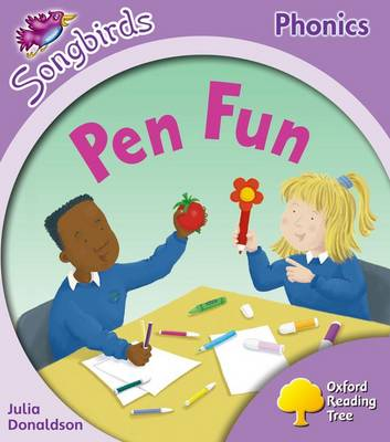 Oxford Reading Tree: Level 1+: More Songbirds Phonics: Pen Fun (Paperback)