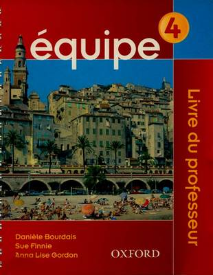 Equipe: Teacher's Book Part 4 (Paperback)