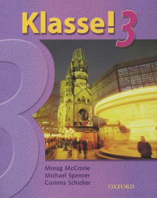 Klasse! 3: Students Book Pt. 3 (Paperback)