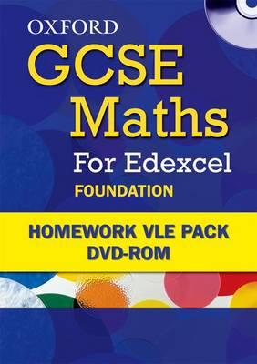 Oxford GCSE Maths for Edexcel: Foundation Homework VLE Pack (CD-ROM)