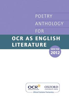 AS Poetry Anthology for OCR 2012-2014 (Paperback)