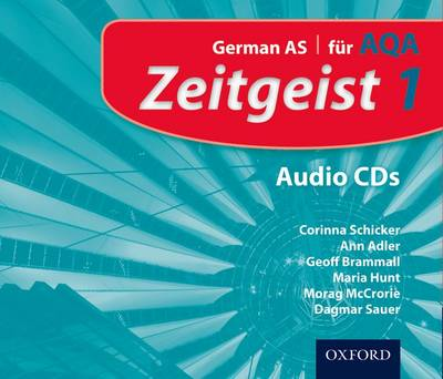 Zeitgeist: 1: Fur AQA Audio CDs - Zeitgeist (CD-Audio)