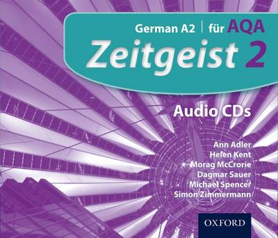 Zeitgeist: 2: Fur AQA Audio CDs - Zeitgeist (CD-Audio)