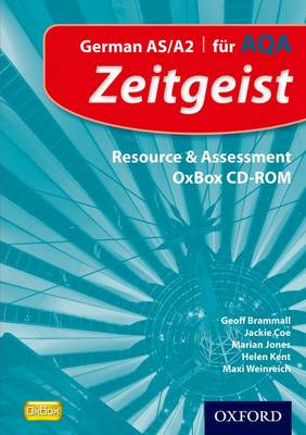 Zeitgeist: Fur AQA Resource & Assessment OxBox CD-ROM