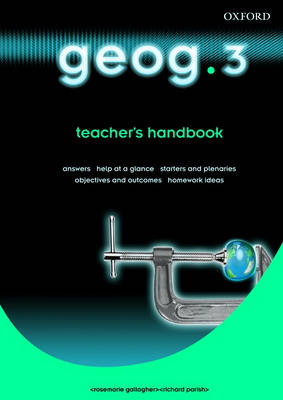 Geog.123: Teacher's Handbook Level 3 (Paperback)