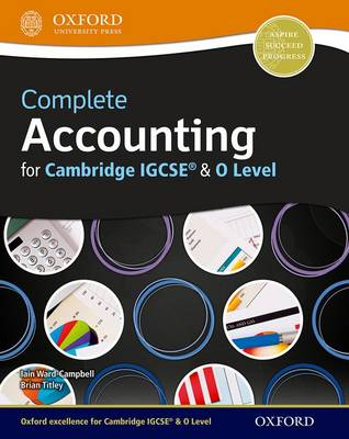 Complete Accounting for Cambridge O Level & IGCSE