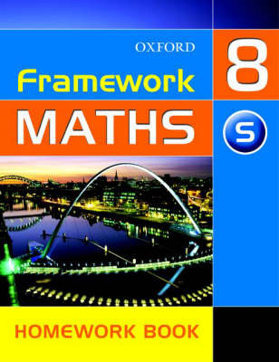 Framework Maths: Y8: Year 8 Support Homework Book (Paperback)