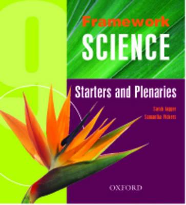 Framework Science: Starters and Plenaries Pack Year 9 (Spiral bound)