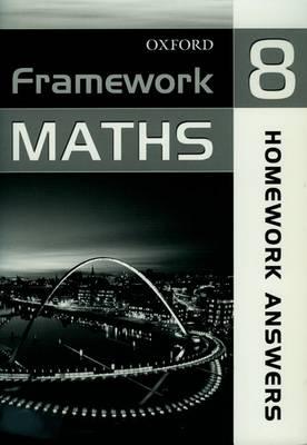 Framework Maths: Homework Answer Book Year 8 (Paperback)