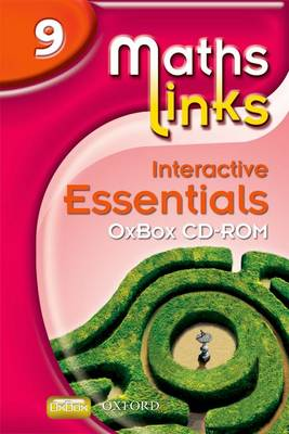 Mathslinks: 3: Y9 Interactive Essentials OxBox Cd-rom: 9 (CD-ROM)