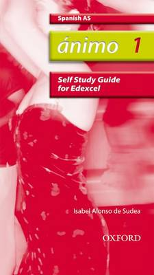 Animo: 1: AS Edexcel Self-Study Guide with CD-ROM - Animo