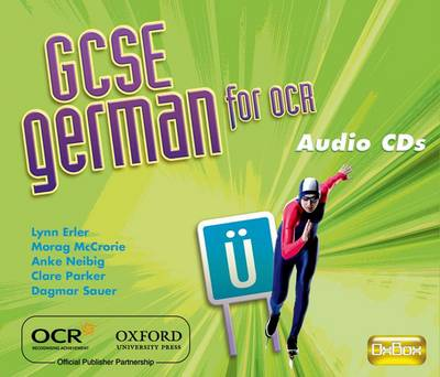 GCSE German for OCR Audio CDs (CD-Audio)