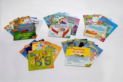 Oxford Reading Tree: Stages 6 to 10: Snapdragons: Easy Buy Pack 3