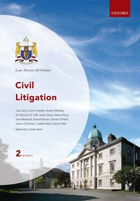 Civil Litigation - Law Society of Ireland Manuals (Paperback)