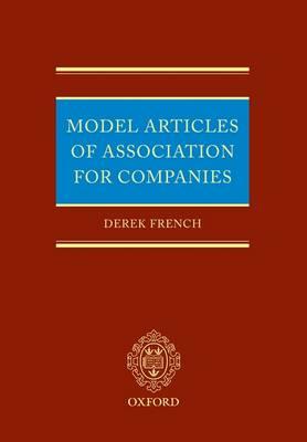 Model Articles of Association for Companies (Hardback)
