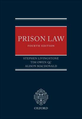 Prison Law (Hardback)