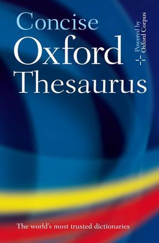 Concise Oxford Thesaurus (Hardback)
