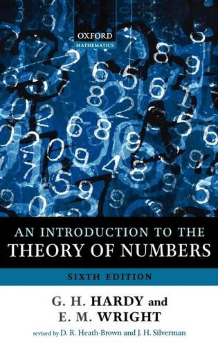 An Introduction to the Theory of Numbers (Hardback)