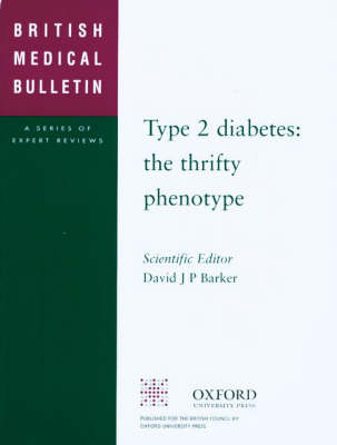 Type 2 Diabetes: The Thrifty Phenotype (Paperback)