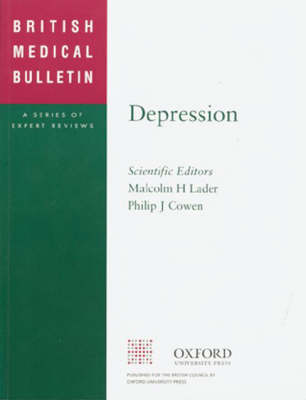 Depression 2001 - British Medical Bulletin v.57 (Paperback)