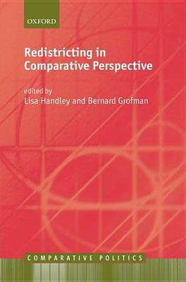 Redistricting in Comparative Perspective - Comparative Politics (Hardback)