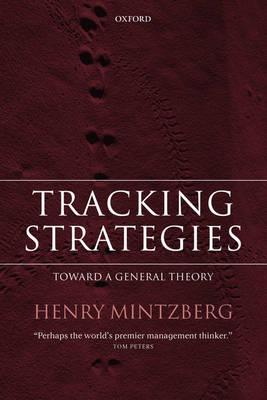 Tracking Strategies: Toward a General Theory (Hardback)