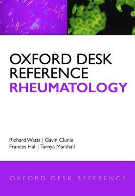 Oxford Desk Reference: Rheumatology - Oxford Desk Reference Series (Hardback)