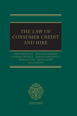 The Law of Consumer Credit and Hire (Hardback)