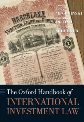 The Oxford Handbook Of International Investment Law By border=