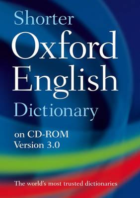 Shorter Oxford English Dictionary (CD-ROM)
