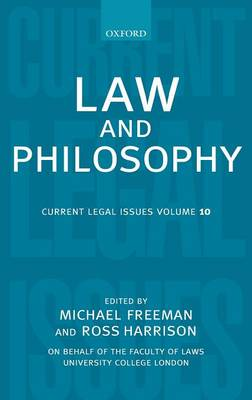 Law and Philosophy - Current Legal Issues (Hardback)