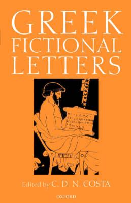 Greek Fictional Letters (Hardback)