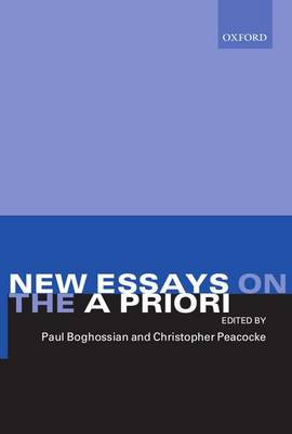 New Essays on the A Priori (Paperback)