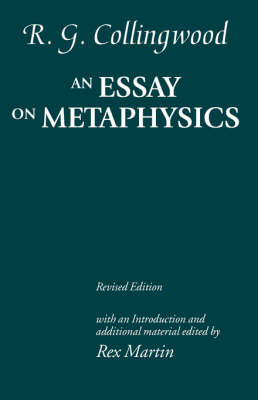 An Essay on Metaphysics: Revised edition with introduction and additional material (Paperback)