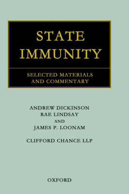 State Immunity: Selected Materials and Commentary (Hardback)