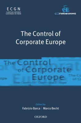 The Control of Corporate Europe (Hardback)