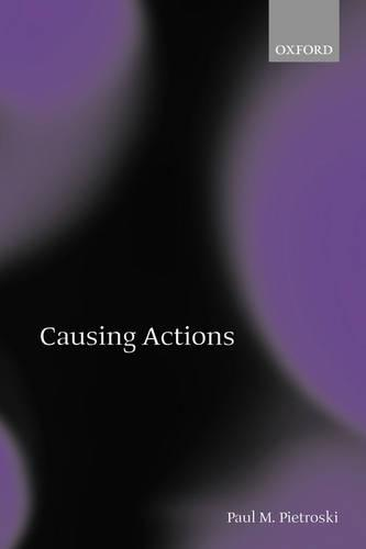 Causing Actions (Paperback)