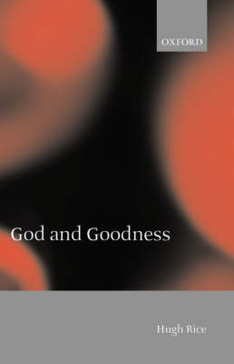 God and Goodness (Paperback)