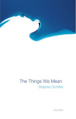 The Things We Mean (Paperback)
